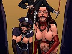 slavegirls hand hand