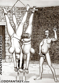 The lesbian wing of the prison was always busy pic 1