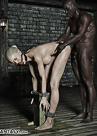 Darnell let out a groan of unbridled lust as he pushed his way deeper inside her pic 3