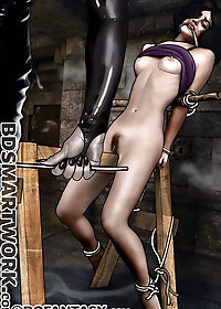 The cane snapped against soft flesh and the screaming filled the chamber pic 1