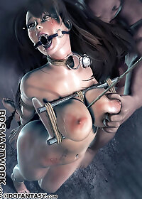 I'm gonna throat fuck you until I break that bell on your neck pic 1